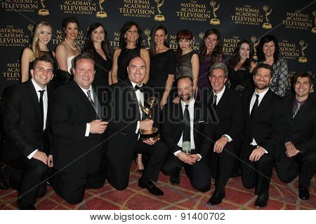 LOS ANGELES - APR 24: The Henry Ford Innovation Nation at The 42nd Daytime Creative Arts Emmy Awards Gala at the Universal Hilton Hotel on April 24, 2015 in Los Angeles, California