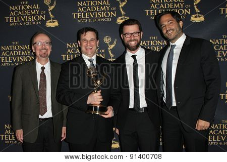 LOS ANGELES - APR 24: Wordgirl, Outstanding Writing at The 42nd Daytime Creative Arts Emmy Awards Gala at the Universal Hilton Hotel on April 24, 2015 in Los Angeles, California