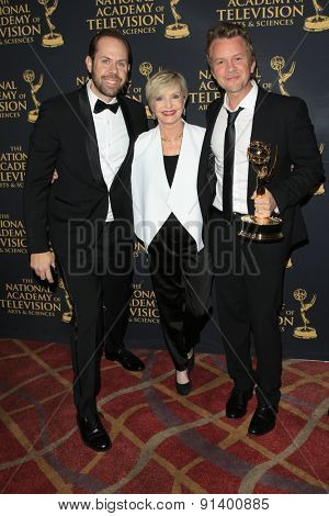 LOS ANGELES - APR 24: Winner at The 42nd Daytime Creative Arts Emmy Awards Gala at the Universal Hilton Hotel on April 24, 2015 in Los Angeles, California