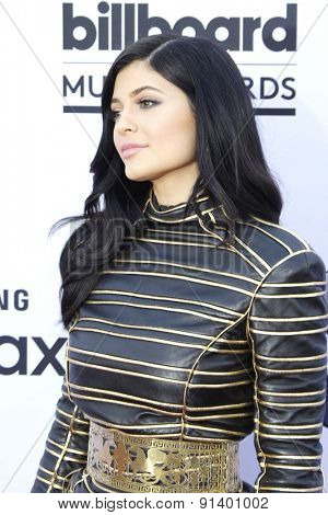 LAS VEGAS - MAY 17: Kylie Jenner at the 2015 Billboard Music Awards at the MGM Grand Garden Arena on May 17, 2015 in Las Vegas, Nevada.
