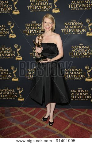 LOS ANGELES - APR 24: Ania  O'Hare at The 42nd Daytime Creative Arts Emmy Awards Gala at the Universal Hilton Hotel on April 24, 2015 in Los Angeles, California