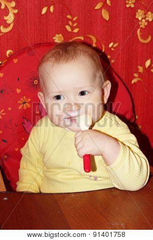 Nursing Of Little Baby