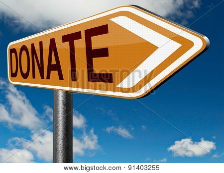give and donate charity funds work as a volunteer and help us fund raising