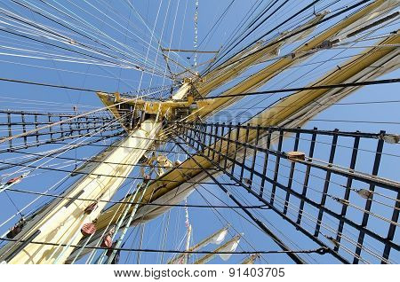 Mast Of A Sailboat