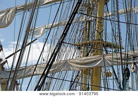 Sails On The Masts