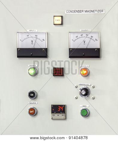 Control Panel Lights