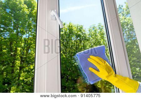 Plastic Vinyl Window
