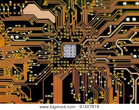 circuits in motherboard