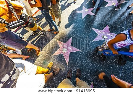 Elton Johns Star On Hollywood Walk Of Fame