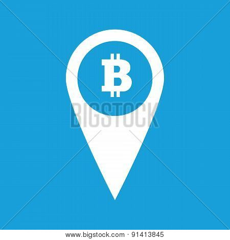 Bitcoin pointer icon