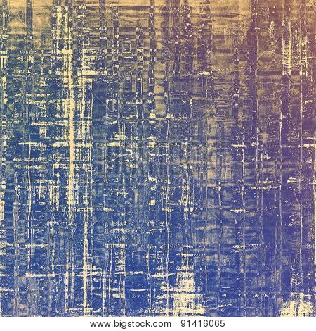 Abstract grunge background or old texture. With different color patterns: brown; gray; purple (violet); blue
