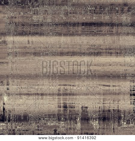 Old and weathered grunge texture. With different color patterns: brown; gray; black