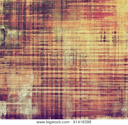 Grunge retro vintage texture, old background. With different color patterns: yellow (beige); brown; purple (violet); pink