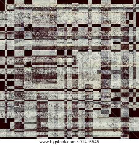 Vintage texture. With different color patterns: brown; gray; black