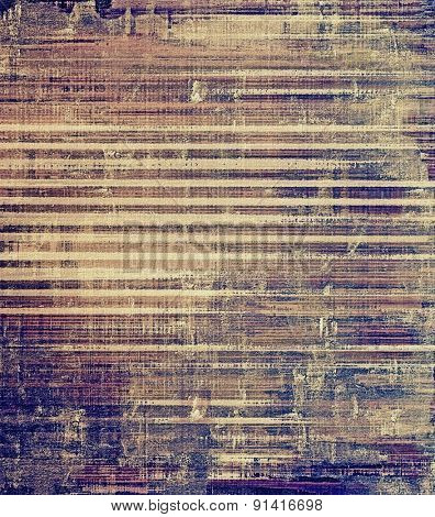 Old retro vintage texture. With different color patterns: yellow (beige); brown; gray; purple (violet)