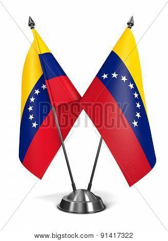 Venezuela - Miniature Flags.