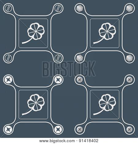 Flat Simple Frames