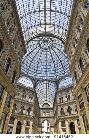 Umberto I Gallery In The City Of Naples