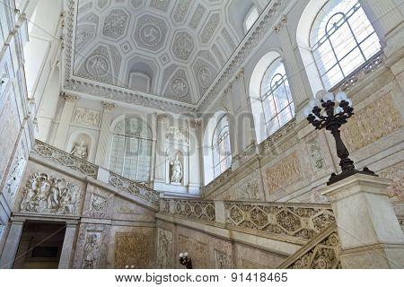 Royal Palace In Naples, Piazza Del Plebiscito