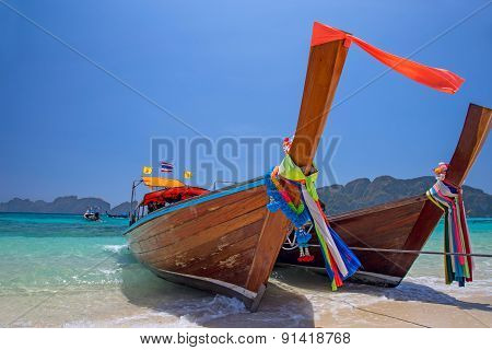 Longtail Boats, Thailand