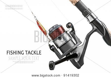 Fishing Tackle Isolated