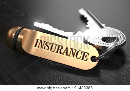 Insurance written on Golden Keyring.