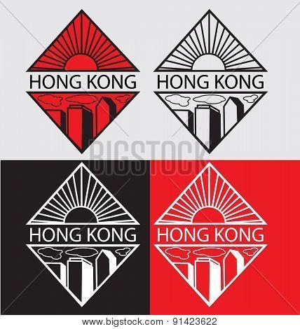 Hong Kong City Logotype