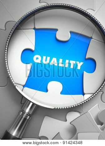 Quality through Lens on Missing Puzzle.