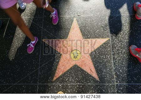 Tom Cruise's Star On Hollywood Walk Of Fame