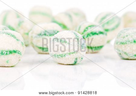 Peppermint Olorful Candies