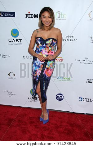 LOS ANGELES - MAY 21:  Jeannie Mai at the 17th From Slavery to Freedom Gala at the Skirball Center on May 21, 2015 in Los Angeles, CA