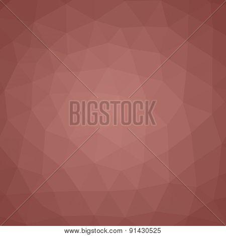 Geometric triangle mosaic background