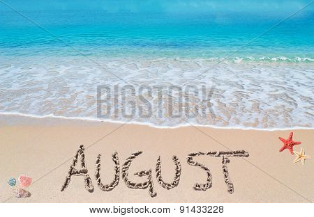 August On A Tropical Beach