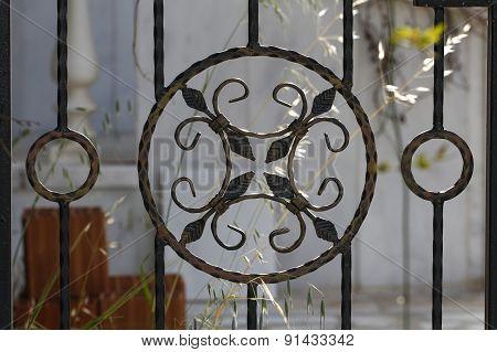 Iron Fence.