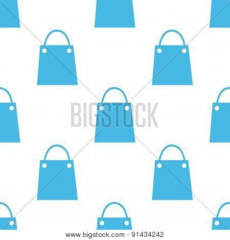 Flat shopping bag pattern