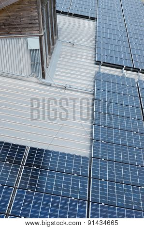 Photovoltaic Solar Panels And Window