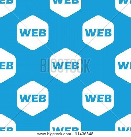 WEB hexagon pattern