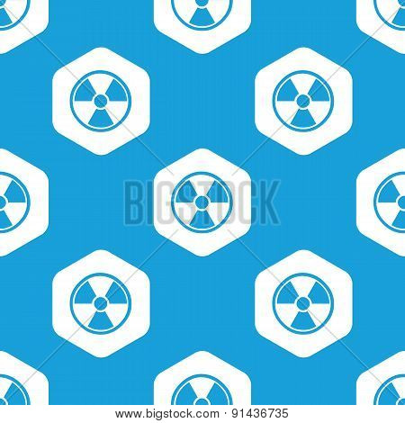 Hazard hexagon pattern