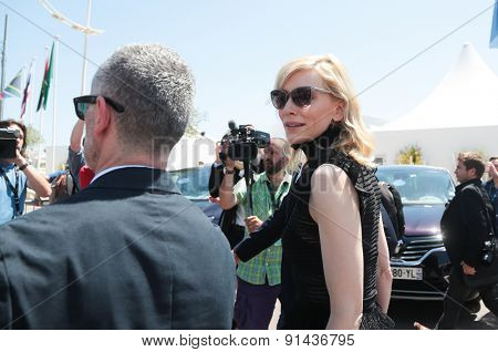 Cate Blanchett attends the 'Carol' phoot call during the 68th annual Cannes Film Festival on May 17, 2015 in Cannes, France.