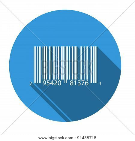 Isolated Icon For Upca Barcode
