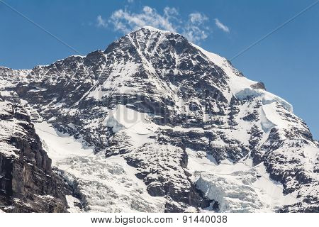 Swiss Alps Mountain Range, Jungfraujoch, Switzerland