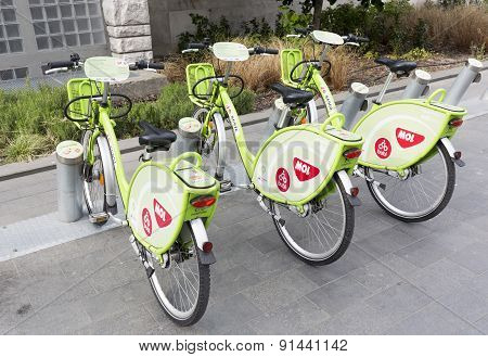 Budapest Bicycle Sharing System