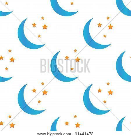 Colored night symbol pattern
