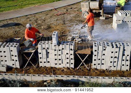 Constructing Wall