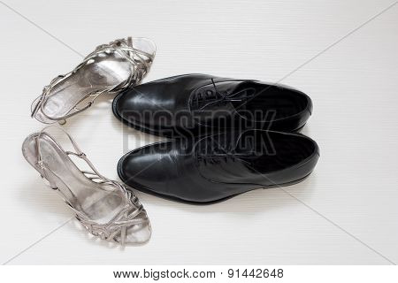 Male And Female Wedding Shoes