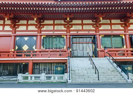Asakusa Kannon Temple (also Called Sensoji), The Oldest Temple In Tokyo