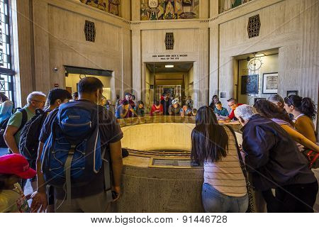 The Griffith Observatory, Los Angeles, California