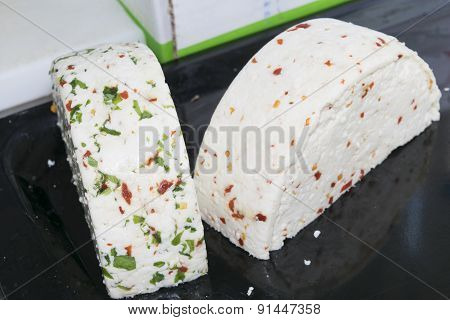 Spiced And Seasoned Cheeses
