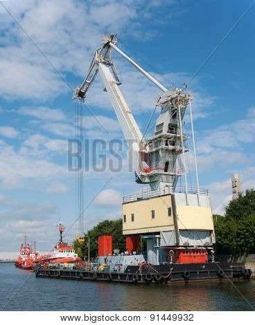 Mobile Floating Crane