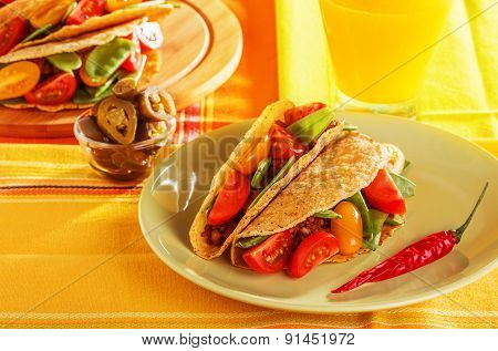 Delicious Mexican Tacos